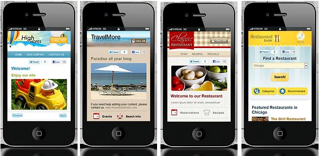 mobile-website-samples